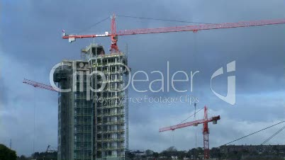 Time Lapse of Construction Site
