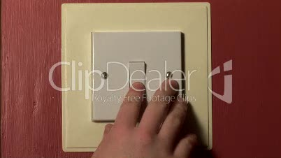 Stock Footage - Switch