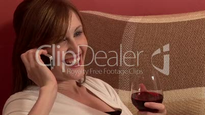 Relaxing with a Glass of Wine 8