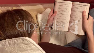 Woman Reading a Book 3
