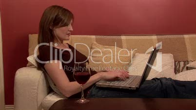 Woman Working from Home 5