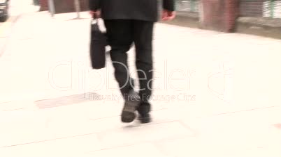 Businessman Working Outdoors 20