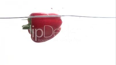 Paprika im Wasserglas 2