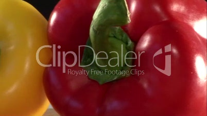 Stock Footage of Peppers