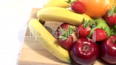 Stock Video of Fruits