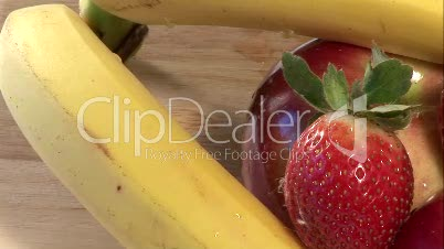 Stock Footage of Fruit