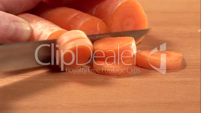 Stock  Footage - Carrot