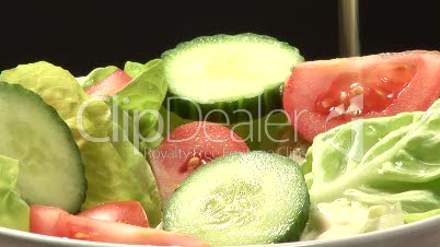 Stock Footage of Salad