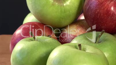 Stock Footage of Apples