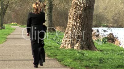 Business Woman on Mobile Phone 5