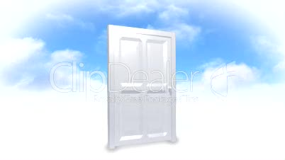 Door on the clouds