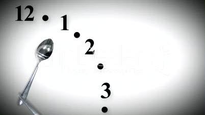 Dinnertime Clock Seamless