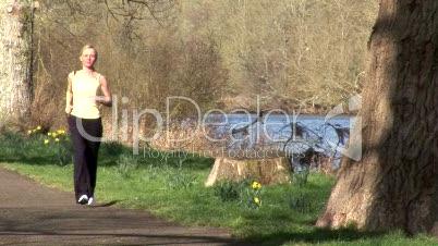 Woman Jogging 2
