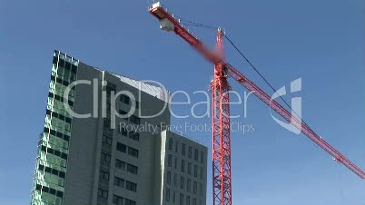 Time Lapse of Crane at Work