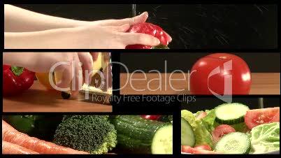 Vegetable Montage 2