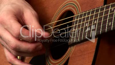 Playing Accoustic Guitar 2