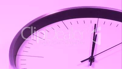 Pink Clock 3
