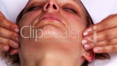 face massaged 3