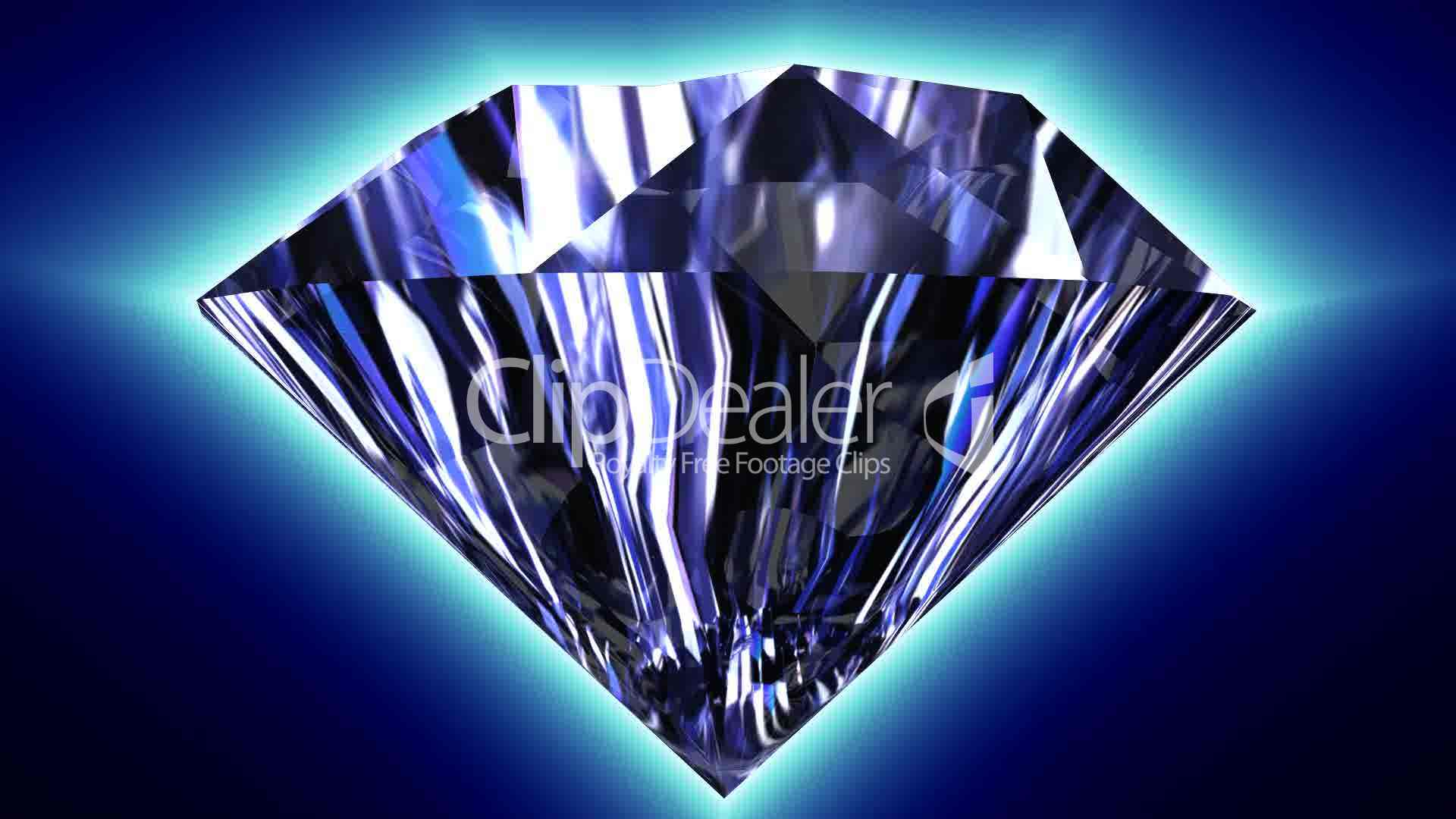Spinning Diamond 2 Royalty Free Video And Stock Footage
