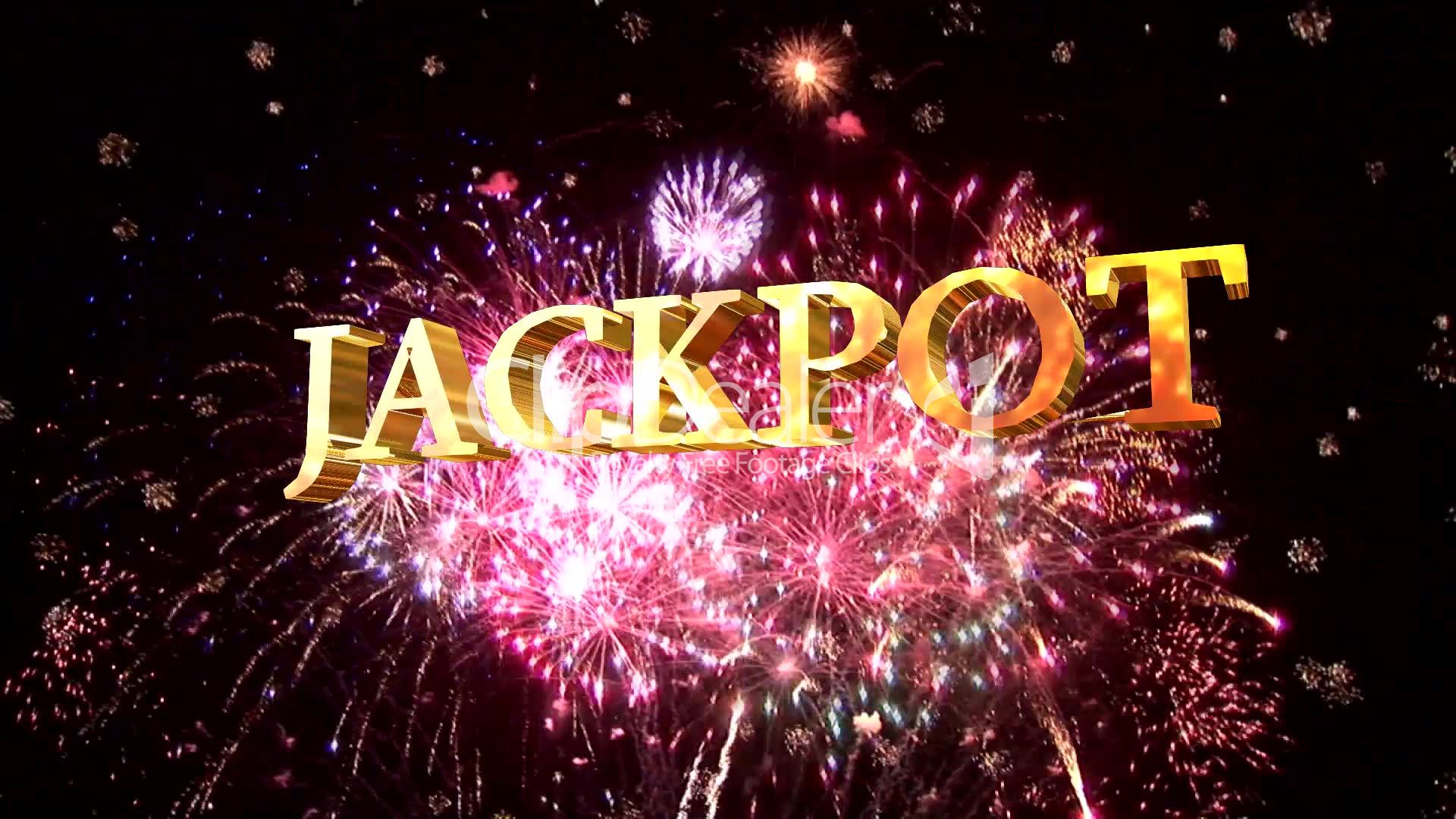 Jackpot Sign: Royalty-free video and stock footage