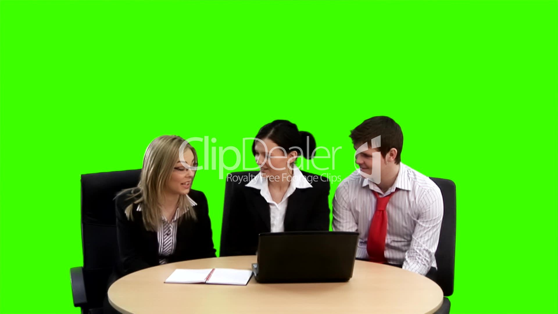 Chroma Key Business Footage 4 Royalty Free Video And