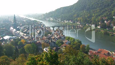 Heidelberg (Blick vom Schloß)