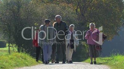Senioren, Fitness, Wandern