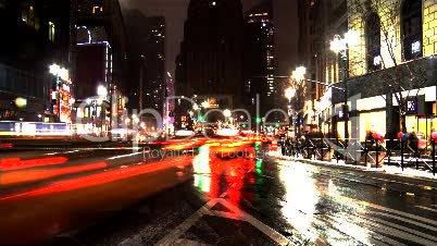 New York Traffic Timelaps