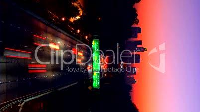 Autoverker in der Nacht
