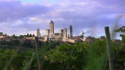 San Gimignano, Toskana, Italien