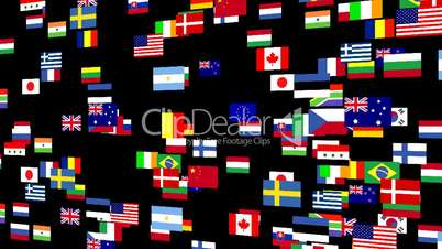 Flags of the world animated 4