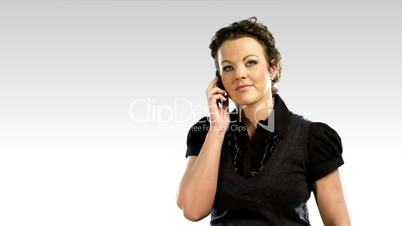 One business woman on the phone 3