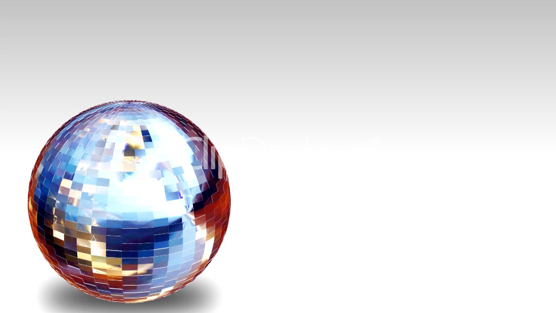 3d Animation Disco Ball Royalty Free Video And Stock Footage