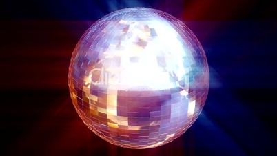 HD animated Disco Ball