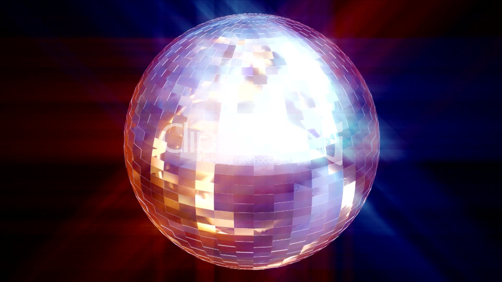 hd animated disco ball  royalty