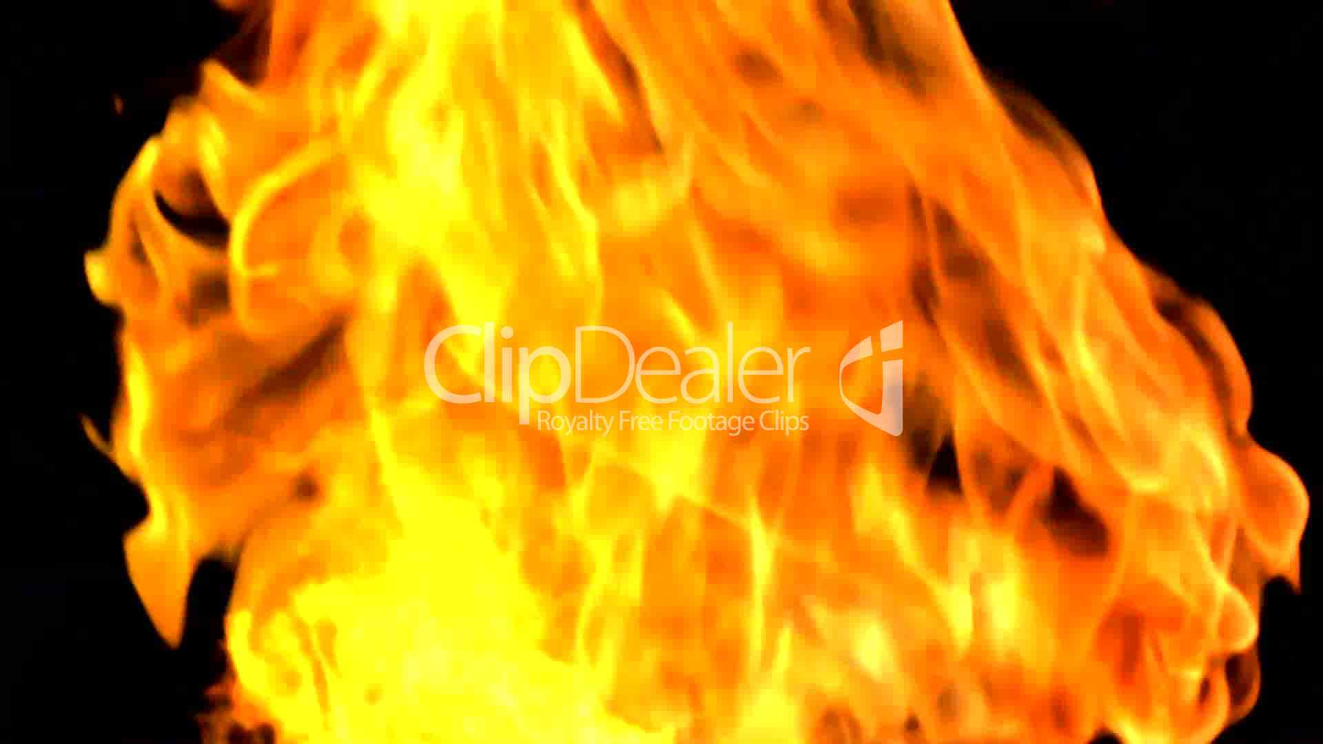 3 Fire Animation 3 Royalty-Free Video And Stock Footage-5591