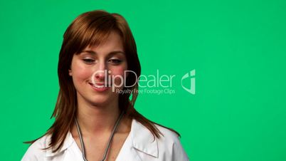Female Doctor in a hospital 2