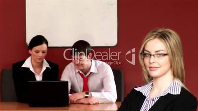 Business Teamwork Together - 1