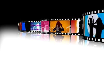 Entertainment Movie Film Strip 2