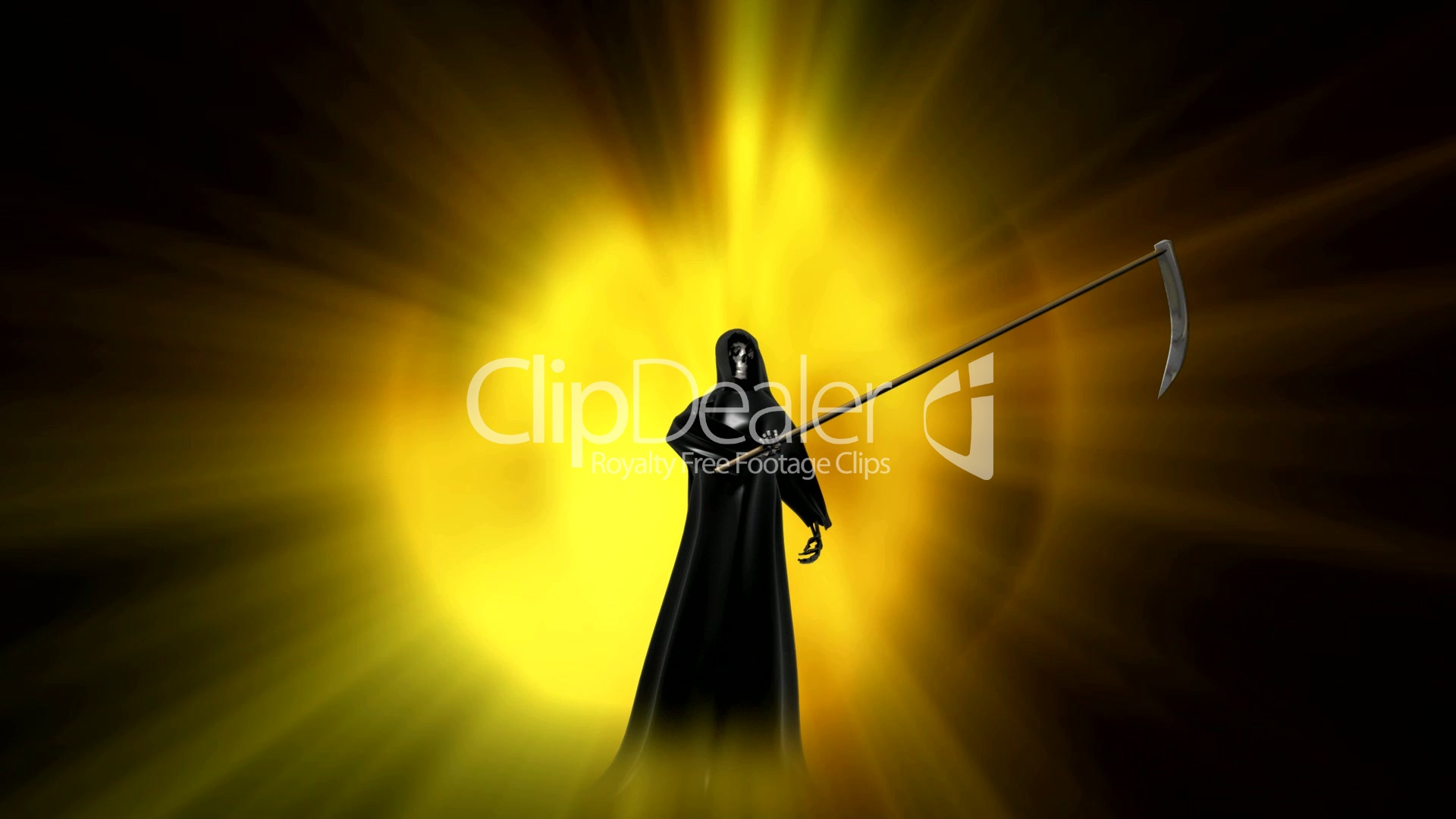 Grim Reaper HD1080: Royalty-free video and stock footage