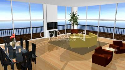 Living Room Fly By HD1080