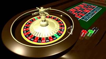 Roulette Wheel HD1080 Loopable