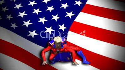 American Super Hero HD1080
