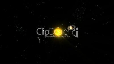 Planets Orbiting Sun HD1080