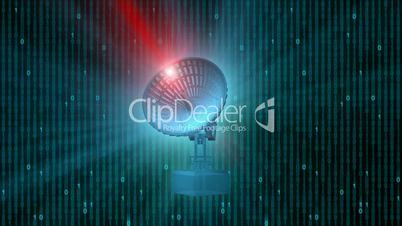 Digital Satellite Dish Loopable HD1080