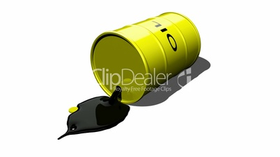 Oil Barrel Spilling HD1080