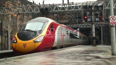 Virgin Pendolino high speed train