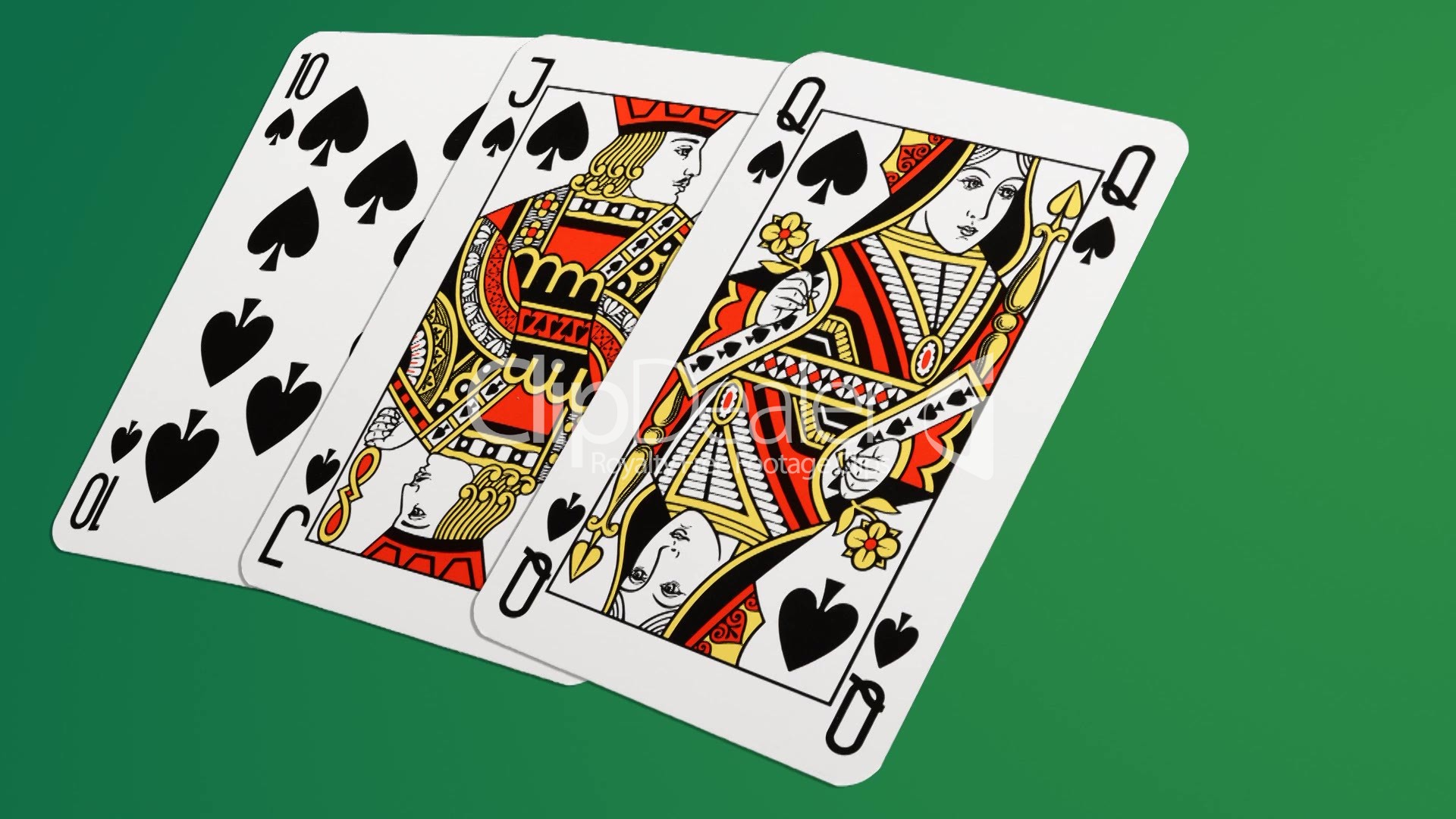 playing cards 3d animation royalty free video and stock footage