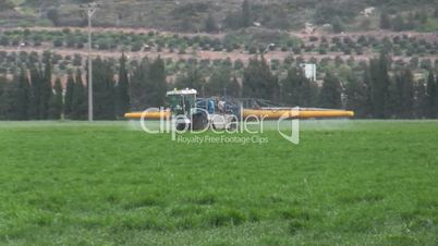 Agricultural spraying