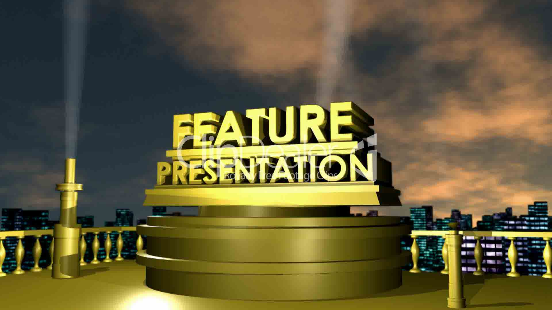 feature presentation hd1080  royalty